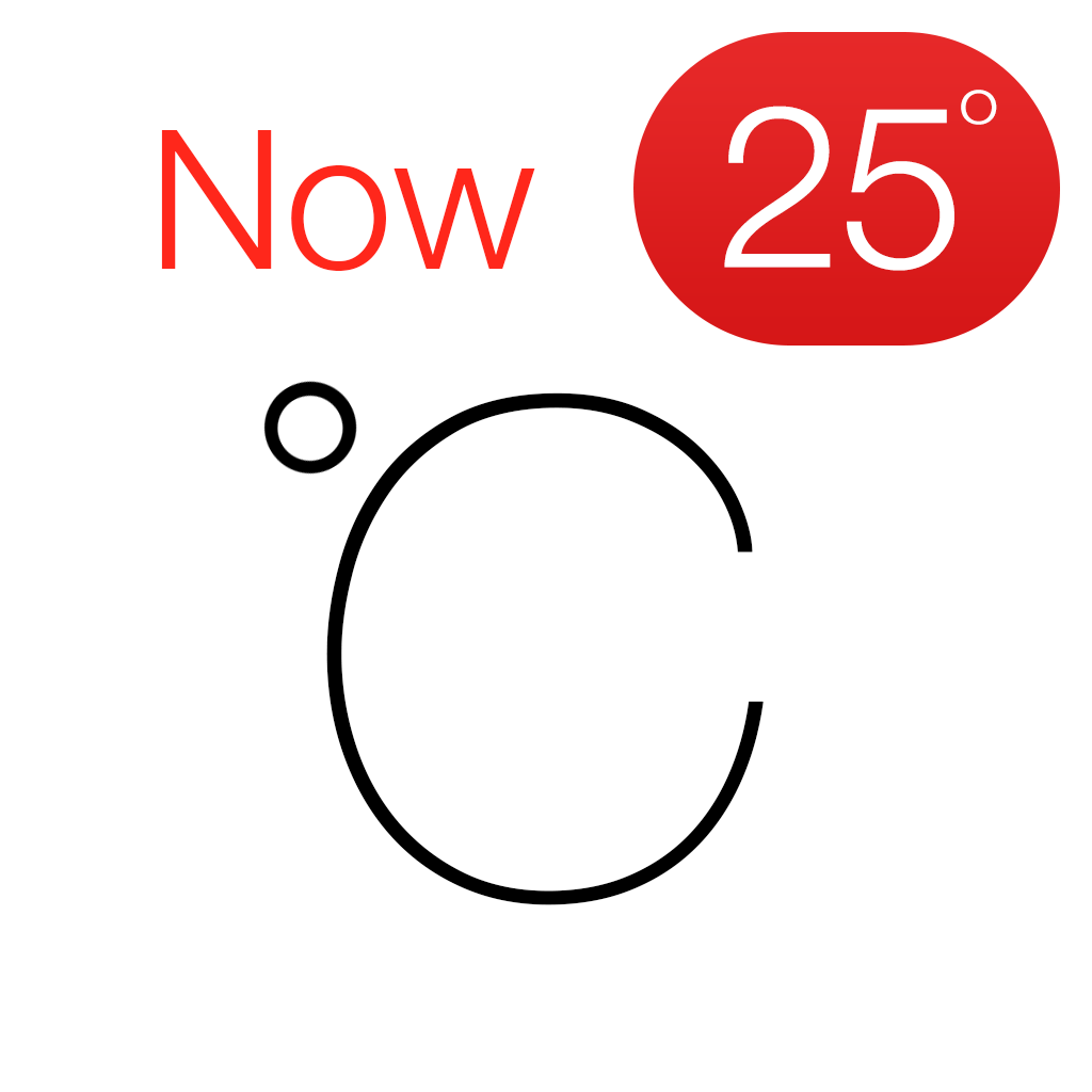 Celsius Free - Weather & Temperature on your Home Screen